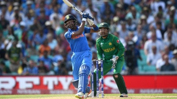 Hardik Pandya launched some monster sixes during his blinder