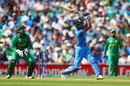 Hardik Pandya shovels one down the ground, India v Pakistan, Final, Champions Trophy 2017, The Oval, London, June 18, 2017