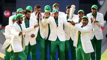 Pakistan, ranked No. 8 before the tournament, took the trophy home