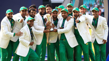 Pakistan won their first Champions Trophy title