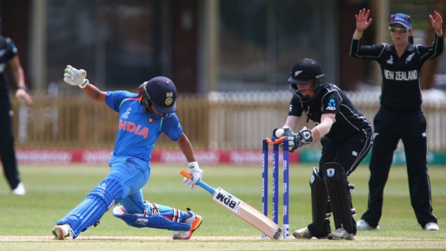 Bowlers seize on Raj-Krishnamurthy heroics, India seal semi-final spot
