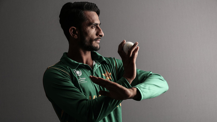 Hasan Ali poses for a photo