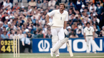 Ian Botham cuts a relaxed figure in the middle