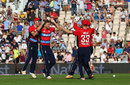 David Willey struck with the first ball of the innings, England v South Africa, 1st T20I, Ageas Bowl, June 21, 2017