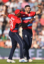 Mark Wood claimed a wicket with his opening delivery, England v South Africa, 1st T20I, Ageas Bowl, June 21, 2017