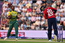 Andile Phehlukwayo picked up the wicket of Jason Roy, England v South Africa, 1st T20I, Ageas Bowl, June 21, 2017