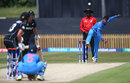 Deepti Sharma bowls to Suzie Bates, India v New Zealand, ICC Women's World Cup warm-up, Derby, June 19, 2017