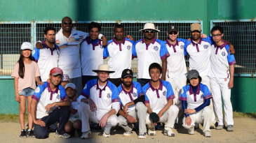 Members of the Shiga Kyoto Cricket Club