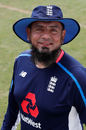 Saqlain Mushtaq was on hand as England's spin consultant, England Lions v South Africa A, unofficial Test, Canterbury, 2nd day, July 22, 2017