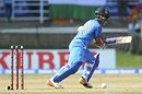 Ajinkya Rahane struck a patient 62, West Indies v India, 1st ODI, Port-of-Spain, June 23, 2017