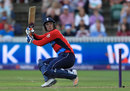 Liam Livingstone struggled to score quickly as the rate rose, England v South Africa, 2nd T20I, Taunton, June 23, 2017