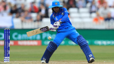 Mithali Raj drove the innings through the latter overs