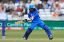 Mithali Raj drove the innings through the latter overs, England v India, Women's World Cup, Derby, June 24, 2017