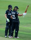 Suzie Bates celebrates her half-century, New Zealand v Sri Lanka, Women's World Cup, June 24, 2017