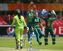 Dane van Niekerk deceived Bismah Maroof in the air, South Africa v Pakistan, Women's World Cup, Leicester, June 25, 2017