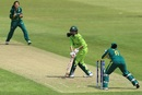 Nain Abidi is stumped by Trisha Chetty, South Africa v Pakistan, Women's World Cup, Leicester, June 25, 2017