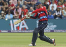 Alex Hales clubs down the ground, England v South Africa, 3rd T20I, Cardiff, June 25, 2017