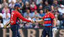 Alex Hales and Dawid Malan put on a century stand, England v South Africa, 3rd T20I, Cardiff, June 25, 2017
