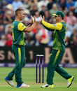 Dane Paterson claimed four wickets in a brilliant spell of death bowling, England v South Africa, 3rd T20I, Cardiff, June 25, 2017