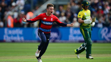 Mason Crane was overjoyed at claiming AB de Villiers as a maiden international wicket