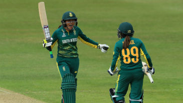 Sune Luus and Shabnim Ismail allayed fears of a heart-wrenching loss,