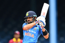 Virat Kohli pulls, West Indies v India, 2nd ODI, Port-of-Spain, June 25, 2017