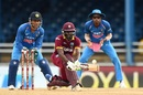 Jonathan Carter brings out his unorthodoxy, West Indies v India, 2nd ODI, Port-of-Spain, June 25, 2017