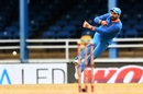 Yuvraj Singh fires a throw, West Indies v India, 2nd ODI, Port-of-Spain, June 25, 2017