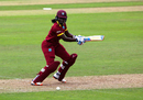 Stafanie Taylor hits one off the back foot, West Indies v Australia, Women's World Cup, Taunton, June 26, 2017