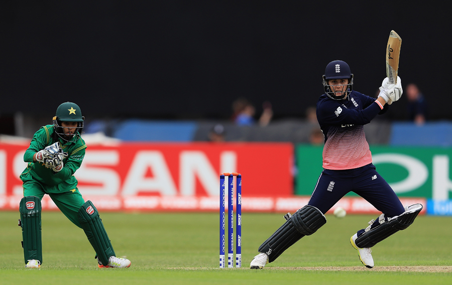 ICC Women's World Cup : England defeat Pakistan by 107 runs (DLS)