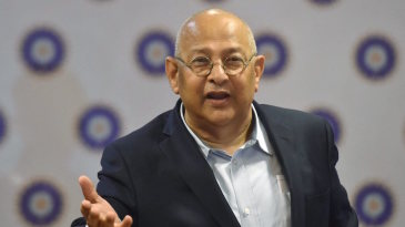 BCCI acting secretary Amitabh Choudhary talks after the special general meeting