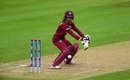 Felecia Walters guides one to third man, India v West Indies, Women's World Cup, Taunton, June 29, 2017