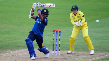 Chamari Atapattu passed 50 for the second match in a row