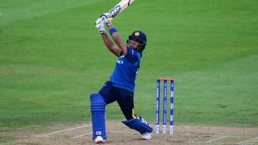Chamari Atapattu hit six sixes in her unbeaten 178