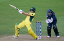 Nicole Bolton swivels into a pull, Australia v Sri Lanka, Women's World Cup, Bristol, June 29, 2017