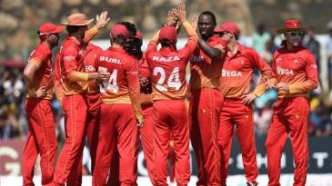 Tendai Chatara broke through for Zimbabwe
