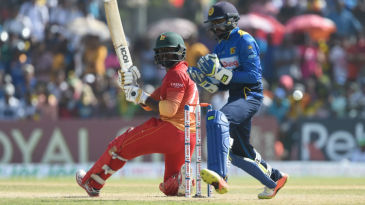 Solomon Mire's fourth half-century kept Zimbabwe alive in a stiff chase