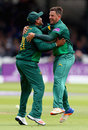 Samit Patel and Steven Mullaney shared five wickets, Nottinghamshire v Surrey, Royal London Cup final, Lord's, July 1, 2017
