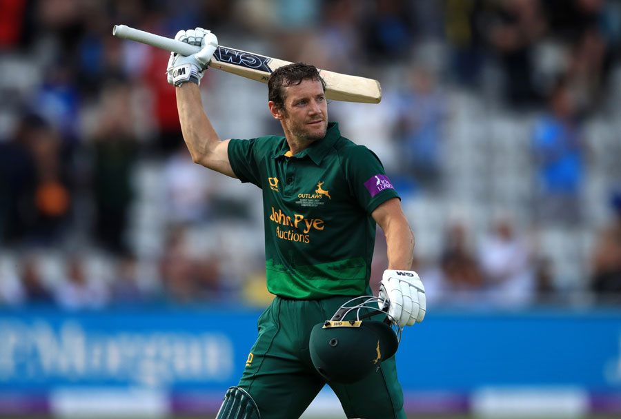 Hales makes history to help Notts win One-Day Cup final