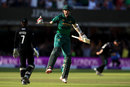 Alex Hales enjoys the moment of victory, Nottinghamshire v Surrey, Royal London Cup final, Lord's, July 1, 2017