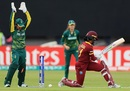 Merissa Aguilleira's wicket added to West Indies' dramatic collapse, South Africa v West Indies, Women's World Cup, Leicester, July 2, 2017
