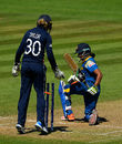 Shashikala Siriwardene was bowled for 33 by Laura Marsh, England v Sri Lanka, Women's World Cup, Taunton, July 2, 2017