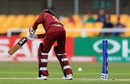 Afy Fletcher was bowled for a duck, South Africa v West Indies, Women's World Cup, Leicester, July 2, 2017