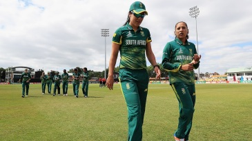 Marizanne Kapp and Shabnim Ismail took six wickets between them