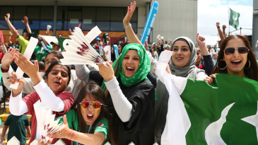 Pakistani fans had lots to cheer about when their bowlers shone