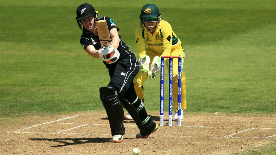 Katie Perkins' half-century provided New Zealand the late lift