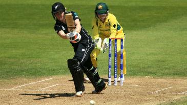 Katie Perkins' half-century provided New Zealand the late lift
