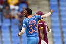 Hardik Pandya had Shai Hope out caught behind, West Indies v India, 4th ODI, Antigua, July 2, 2017