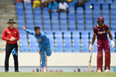 Kuldeep Yadav generated plenty of drift, West Indies v India, 4th ODI, Antigua, July 2, 2017