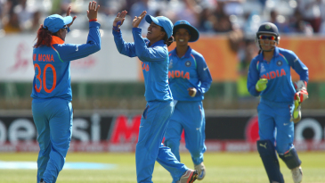 Ekta Bisht bagged a five-four to lead India's charge with the ball